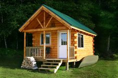 Getaway Log Cabin Kit | Log Cabin Kits & Ideas For Your New Homestead
