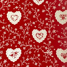 Vintage Valentine Gift Wrap by Hallmark by vintagepoetic on Etsy