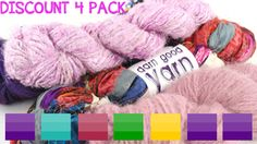 Best of DGY Packs - No need to wait! See more @ the Darn Good Yarn link on www.greenearthdealsonline.com