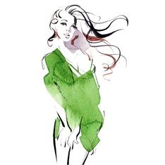 Katharine Asher – Traditional Fashion Illustrator and Animator