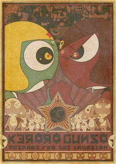Keroro Gunso Propaganda by batman-n-bananas on deviantART