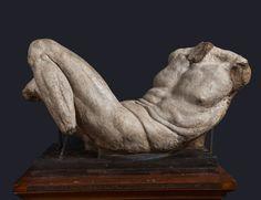 Michelangelo (1475-1564, Italy) | Dio fluviale, ca. 1526-27 (Firenze, Accademia delle Arti)