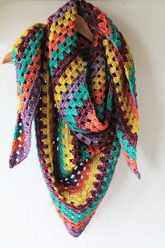 Simple Granny shawl