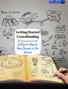 Getting started crowdfunding can be easy if you know the process! Use this guide for step-by-step on getting started crowdfunding your small business idea