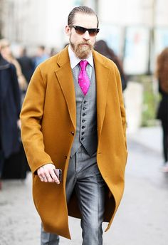 The Most Stylish Male Street Style Stars Ever via @WhoWhatWear  What He Does: Buying Director at Mytheresa.com