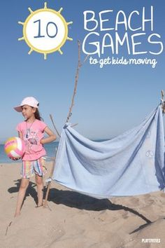 10 Beach Games For Kids To stay active and create the best vacation memories. All of the games are easy to set up and do not require additional materials.