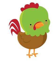 Chicken Clip Art, Cartoon Chicken, Farm Animal Party, Farm Party, Sheriff Callie Birthday, Barbie Em Paris, Baby Clip Art, Pretty Drawings, Diy Coasters