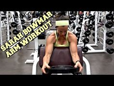 Ready for a killer Biceps and Triceps Workout? Check out this Sarah Bowmar upper-body circuit!  (Circuit begins at 1:01)