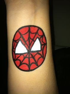 Spidey cheek art