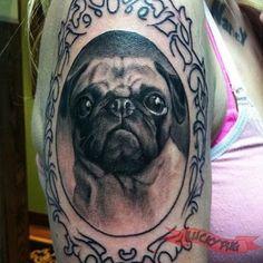 lucky pug fcf tattoo 3