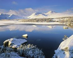 Winter Purity : Loch Na Stainge, Glencoe, Scotland : Photography of Ian Cameron Glencoe Scotland, Scotland Uk, Vacation Places, Places To Travel, Places To Visit, Wonderful Places, Beautiful Places, England Ireland, Ski Holidays