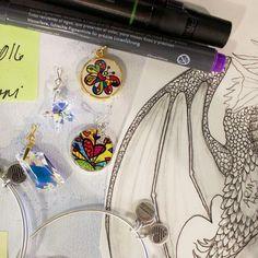 ALEX AND ANI Dragon Sketch