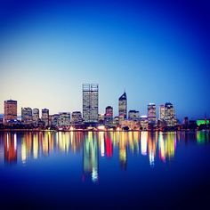 #Perth, Australia (the city scores an overall rating of 95.9 out of 100)