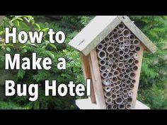 Build a Bug Hotel (Video)   The Old Farmer's Almanac