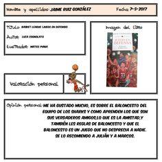 Jaime ha superado el reto de leer un libro recomendado por un familiar