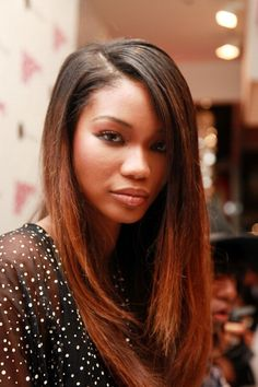 these pictures of ombre hair are fabulous - Hair Color Dark Skin