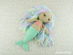 Aurora Mermaid amigurumi pattern