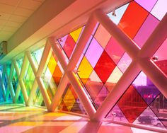 Miami airport installation: harmonic convergence by christopher janney