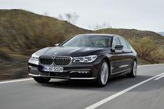 2016 BMW 7-Series driving