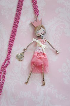 bfde6f4726d3f 532 Best French Doll Necklaces images in 2019