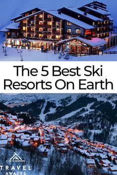 Hermitage Hotel, Earth's Best, Best Ski Resorts, Best Skis, Whitewater Kayaking, Ice Climbing, Going On Holiday, Great Places, Beautiful Places
