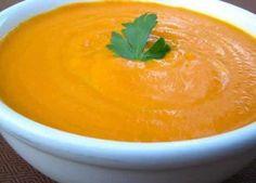 sopa de zanahoria al curry, sopa de zanahoria, sopa de zanahoria para adelgazar . Carrot And Fennel Soup, Curried Carrot Soup, Carrot Curry, Coconut Soup, Coconut Curry, Coconut Milk, Almond Milk, Curry Soup, Healthy Recipes