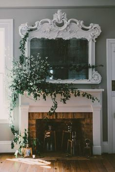 14 chic ways to decorate your mantle on domino.com