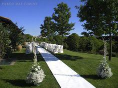 Passerella per arrivo sposa rito civile