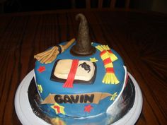 Children's Themed Birthday Cakes  Harry Potter Birthday Cake