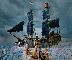 Attack of the Dark Bluish Grey Pearl