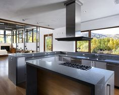 Modern Kitchen Open Concept Kitchen Design, Pictures, Remodel, Decor and Ideas - page 3