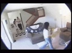 Man Uses Camera To Catch Wife Cheating . . . With The Maid!