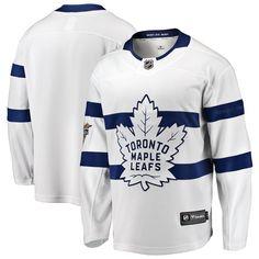 09ab85710 Toronto Maple Leafs Fanatics Branded 2018 NHL Stadium Series Breakaway  Blank Jersey – White