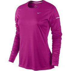 Nike Miler LS Top magenta I GOT IT!