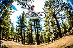 https://flic.kr/p/sQzhLB | Woods Whip | Playtime at the Snow Summit Bike Park in Big Bear Lake, CA.