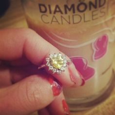 My Jesse got me one of these & I can't wait to get it in the mail!!  | Diamond Candles