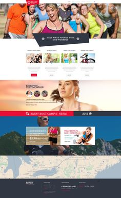 Website Theme , Camping