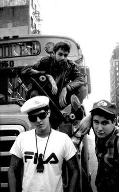 Bid now on Beastie Boys (+ 2 others; 3 works) by Ricky Powell. View a wide Variety of artworks by Ricky Powell, now available for sale on artnet Auctions. East Coast Hip Hop, Beastie Boys, Music Promotion, Photographic Studio, Boy Costumes, My Tumblr, Back In The Day, Music Artists, Old School