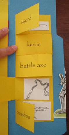 Knights and castles lapbook - perhaps use w/ Armor of God & Bible verses