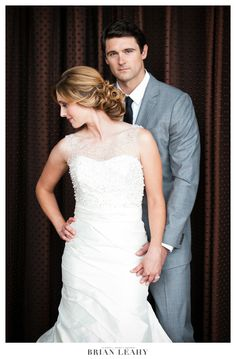 Fabulous @Ines Di Santo wedding dress provided for this shoot by our salon
