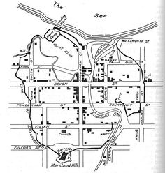 Plan of new plymouth 1860-61.This Day in History: Mar 28,1860: First Taranaki War: The Battle of Waireka begins. http://dingeengoete.blogspot.com/