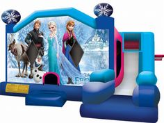 Inflatable Frozen Combo C7 For Sale - Commercial Inflatable Bouncers Cheap Wholesale