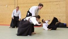 Aikidolehrgang im Budokan Wels / Oberösterreich, Mai 2014: Ikkyo