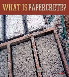 What the Heck is Paper-Crete? #diy #concrete #dan330 http://livedan330.com/2015/02/25/what-the-heck-is-paper-crete/