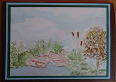 Card with waterbased markers and stamps from Art Impressions.