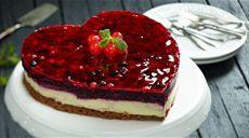 Tvarohovo cokoladova torta s ovocim