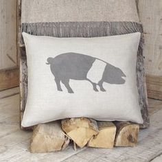 Shop our curated collection of gifts at Not On The High Street. Discover of gifts for all occasions from of unique and personalised products by the UK's best small creative businesses. Country Cushions, Country Crafts, Soft Furnishings, Creative Business, Personalized Gifts, Bed Pillows, Unique Gifts, Pig Stuff, Room Stuff