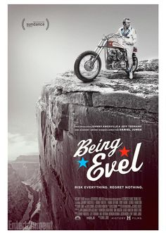 In Being Evel, the documentary that debuts on Jan. 25 at the Sundance Film Festival, director Daniel Junge (They Killed Sister Dorothy) tells the real story of Robert Craig Knievel, the charismatic showman who discovered the most lucrative way to support his family was to risk life and limb in highly orchestrated and heavily promoted motorcycle leaps.
