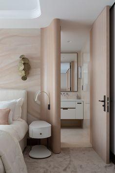 Hotel Bedroom Design, Girl Bedroom Designs, Home Room Design, Home Design Plans, Bedroom Decor, House Design, Modern Interior Design, Luxury Interior, Estilo Interior