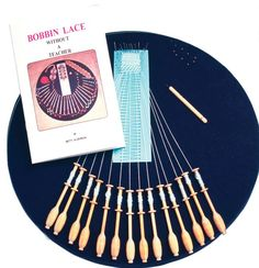 Halcyon's Bobbin Lace Kit from Halcyon Yarn ... Halcyon carries everything for weaving, spinning, dyeing, knitting, tatting, lace-making, rug hooking, and much more, including a broad range of exclusive yarns.